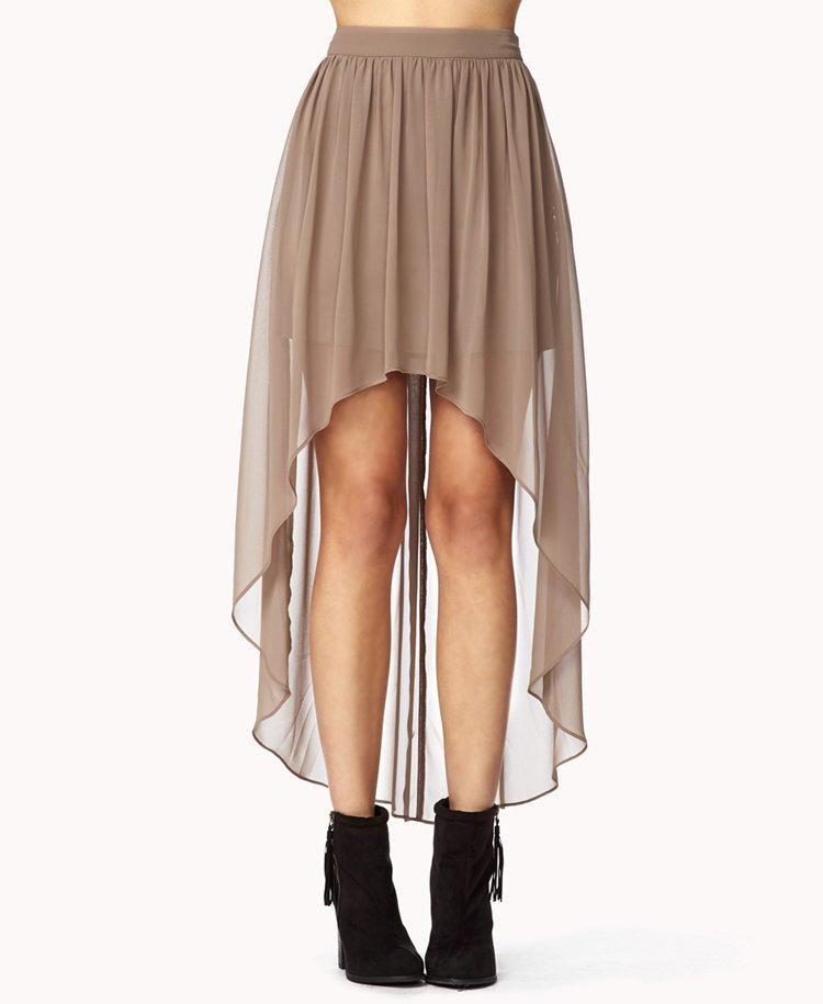 High low skirts forever 21