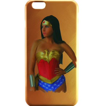 Wonder Woman Oil Painting iPhone 6 | iPhone 6S Case