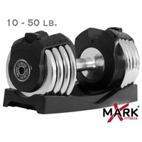 XMark 50 lb. Adjustable Dumbbell