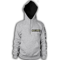Logo Heather Grey Pullover : HLR0 : MerchNOW - Your Favorite Band Merch, Music and More