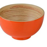 Kyoto Bamboo Bowl - Orange - Part of a beautiful new range of sustainable dining ware