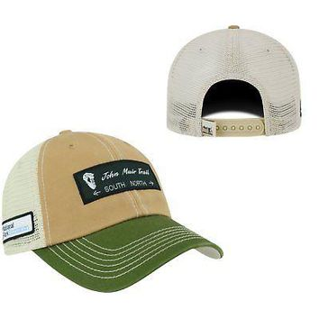 Licensed John Muir Trail Adjustable Trailway 1 Hat Cap Mesh Curved Bill Top of the World KO_19_1