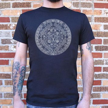 Aztec Calendar Men's T-Shirt