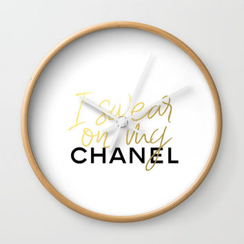 Glamour Decor Wall Clock by NikolaJovanovic