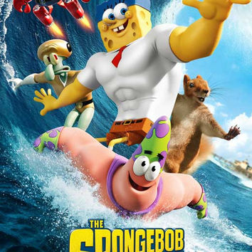 The SpongeBob Movie: Sponge Out of Water 11x17 Movie Poster (2015)