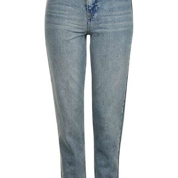 MOTO Cut Out Pocket Mom Jeans - New In