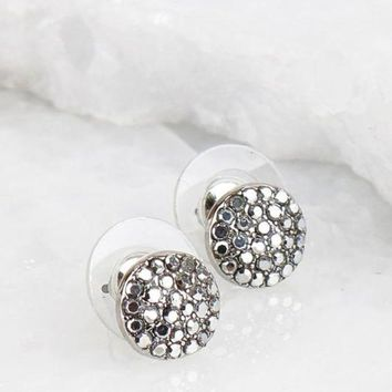 PEAPVA6 Dainty Glitter Post Earrings - 3 Options