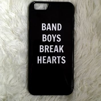 Band Boys Break Hearts iPhone 6/6s Case