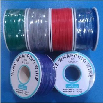 0.5mm Single Core Copper / PCB board fly line 30 # electronic Wire / about 300M / Roll