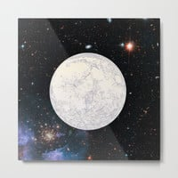 Moon machinations Metal Print by anipani