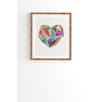 Mareike Boehmer Heart Graphic 5 X Framed Wall Art