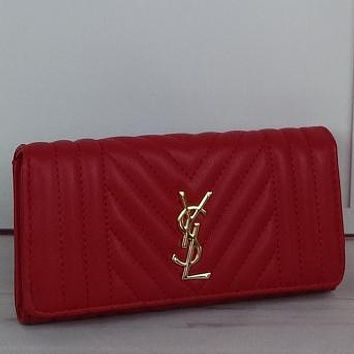 YSL Yves Saint Laurent Women Fashion Leather Tote Purse Bag