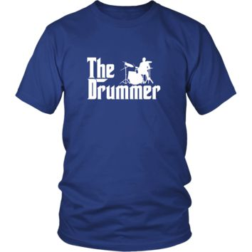 Drums Shirt - The Drummer Music Instrument Gift