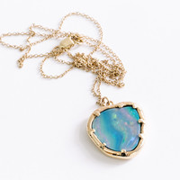 Opal Organic Amulet by Kathryn Bentley for Of a Kind