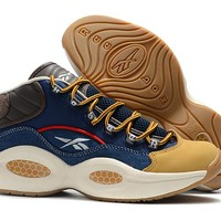 RBK Question 1 Mid OG Navy/Brown