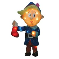 Rudolph the Red-Nosed Reindeer Pre-Lit Hermey Outdoor Decor