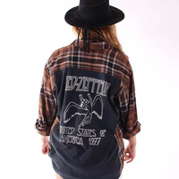 Led Zeppelin Flannel