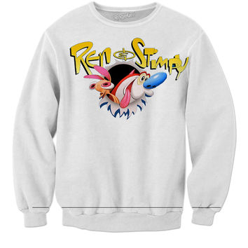 Ren And Stimpy Sweater