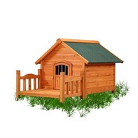 Porch Pups Small Wood Dog House