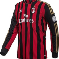 AC Milan jersey  Champions League Long Sleeves 2013 2014