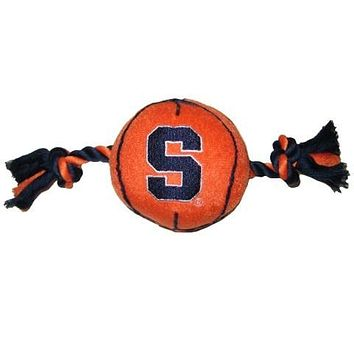 Syracuse Orange Basketball Pet Toy