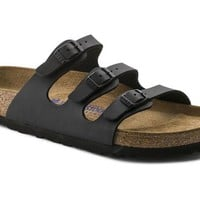Florida Soft Footbed Black Birko-Flor | BIRKENSTOCK