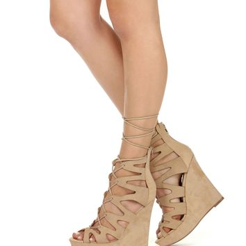 Natural Coming To You Wedges