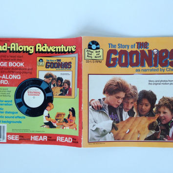 Vintage The Goonies Record Book