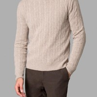 Hackett Mayfair Cashmere Cable Sweater - The Esquire Christmas Edit - Autumn Winter - Collections | Hackett
