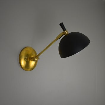Dome Articulating Wall Sconce