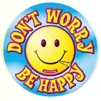 DON'T WORRY BE HAPPY DAB PAD