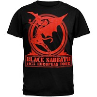 Black Sabbath - Europe 75 T-Shirt