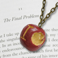 BBC Sherlock: Moriarty's IOU Apple Necklace