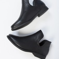 Open Sides Ankle Booties
