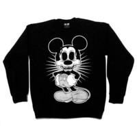 Zombie Mouse Crew Neck Sweatshirt [B] | KILL STAR