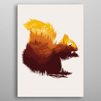 Be a Little Wild by Dan Fajardo | Displate