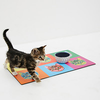 Fringe Cat Pet Placemat