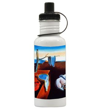 Gift Water Bottles | The Persistence Of Memory Melting Clocks Salvadore Dali Aluminum Water Bottles