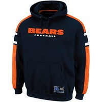 Chicago Bears Passing Game II Hoodie Sweatshirt - Navy Blue