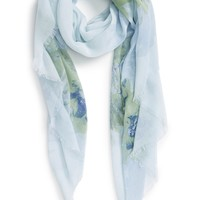 Nordstrom 'Painted Blossoms' Print Scarf | Nordstrom