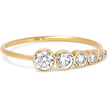Sophie Bille Brahe - Plein de Lune 14-karat gold diamond ring