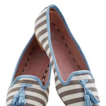 ModCloth Nautical Tea and Tassels Flat