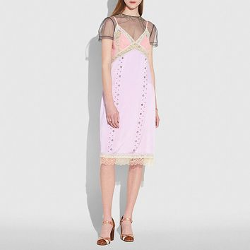 Prairie Rivets Slip Dress