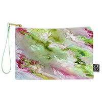 Rosie Brown Magenta Ribbons Pouch