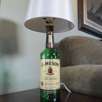 Jameson Whiskey Bottle Bar Lamp