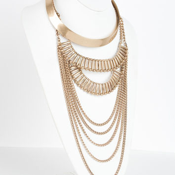 Hanging Around Collar Necklace