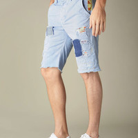 MENS PATCHED & REPAIRED OFFICER CHINO SHORT -  Shorts | True Religion Brand Jeans