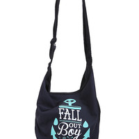Fall Out Boy Anchor Hobo Bag