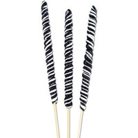 Black and White 3-Ounce Twister Lollipops: 12-Piece Box | CandyWarehouse.com Online Candy Store