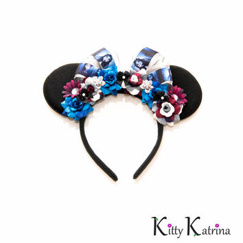 Corpse Bride Disney Ears Headband, Mouse Ears, Corpse Bride Wedding, Corpse Bride Dress, Disney Halloween Ears, Disney Bound, Disneyland